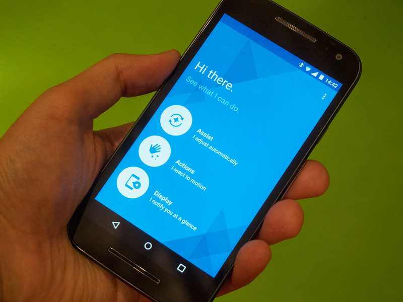 The Acquisition of Engineer Options in Your Moto G